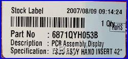 3H NEW Vizio LG 6871QYH053B PWB (PCB) ASSEMBLY, DISPLAY Main Video Board