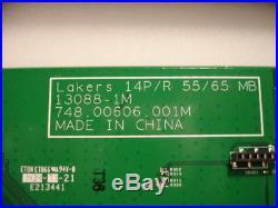 755.00601.0001 Vizio Main Board, 748.00606.001M, from P552ui-B2 LWJJRNAQ