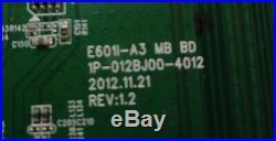 Main Board E601I-A3 0170CAR00100 1P. 012BJ00-4012