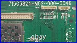 Main Board Vizio E390i-a1, (t)txccb02k0470007, 715g5824-m02-000-004k