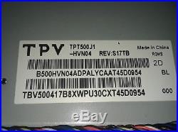 VIZIO E500i-B1 Power Supply MAIN BOARD TCON WIFI. ONLY PANEL IS BROKE. SEE PICS