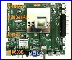 VIZIO E601I-A3, E601I-A3E Main Board 864, Y8385864S, (01-60CAP001-00) WORKS