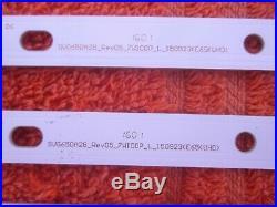 VIZIO E65U-D3 12 LED STRIPS SVG650A28 Rev05 7WICOP R, SVG650A28 Rev05 7WICOP L