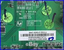 Vizio 3647-0292-0150 (0171-2272-3253) Main Board E472VLE E470VL
