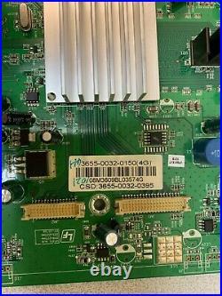 Vizio 3655-0032-0150 Main Board for VF551XVT