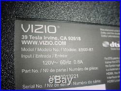 Vizio 50 E500i-B1 Main Board, Power Supply, T-con Board all internal Components