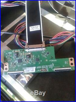Vizio 55in Tv parts complete assembly boards E55-C2 main, power boards all wires