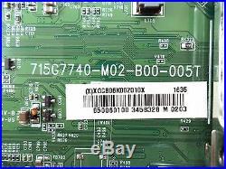 Vizio 756TXGCB06K0020 Main Board For E50-D1