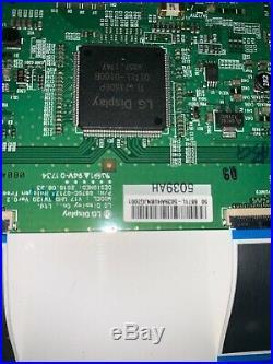 Vizio D50F-F1 Parts Only-Main Board-Power Supply Board T-con Board-Ribbon-cables
