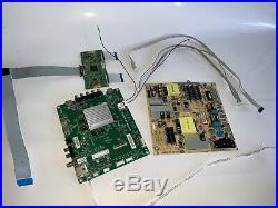 Vizio D50-F1 Parts- Power Supply Board -Main Board -T-con Board -Cables -Ribbon