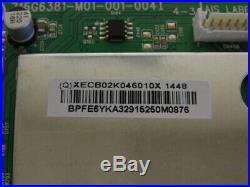 Vizio E420-B1 Main Board (715G6381-M01-001-004I) 756TXECB02K046. Free Delivery