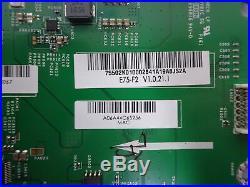 Vizio E75-E2 Main Board (75502K010002) 791.02K10.0002