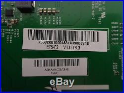Vizio E75-F2 Main Board (75502K010004) 791.02K10.0004