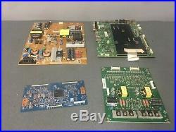 Vizio M43-C1 Main Board, Power Supply Board, T-con Board, LED Driver