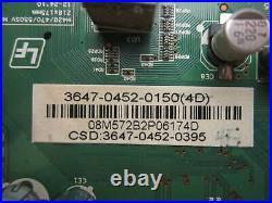 Vizio M470SV Main Board (0171-2272-3714) 3647-0452-0150
