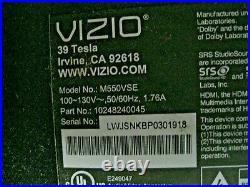 Vizio M550VSE Main Board 48.74N02.011 Lakers MT5395 12033-1 FREE SHIPPING