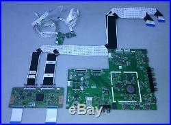 Vizio M551d-a2 Main Board 5575q01001g / 48.75q01.011 T-con, Wifi. Sensor, Ribbons
