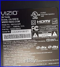Vizio M651D-A2R Main Power Board T-Con Board Video Board