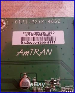 Vizio Main Board 0171-2272-4662 3665-0052-0150 (2B) 3665-0052-0395 M3D651SV