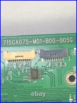 Vizio Main Board P759-g1 W Rbn Cbl Pn 756txjcb0qk018 Bn 715ga075-m01-b00-005g