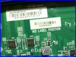 Vizio P759-G1 Main Board 715GA075-M01-B00-005G / XJCB0QK018010X / LTMAYPLV