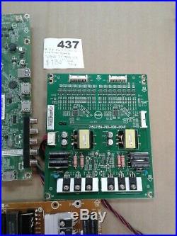 Vizio Tv M43-c1 Main Board, Power Supply, T-con Board And Led Driver Board