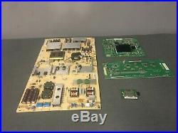 Vizio XVT553SV Main Board, Power Supply Board, LED Driver, T-con Board