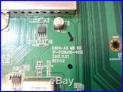 Vizio Y8385904S Main Board, for Vizio E701i-A3 Serial Number Starting LFTRNXAP