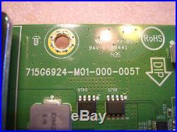 (X)XECB0TK004030X/ETEKX4 Main Board 715G6924-M01-000-005T Vizio P502ui-B1E