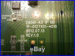 Y8385864S Main Board see 864 on sticker 0160CAP00100ST Vizio E601i-A3 E601i-A3E