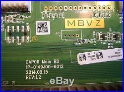 Y8386862S Main Board 862 Vizio M60-C3 serial # starts LFTRSZCS see matching info